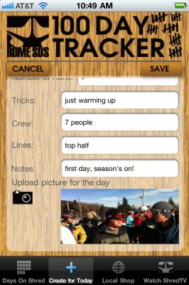 Rome SDS представляет 100 Day Tracker